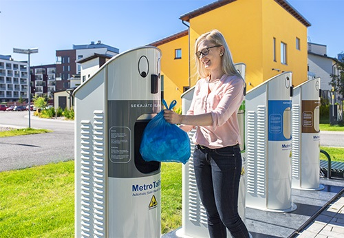 Automatic Solid Waste Collection Solution MetroTaifun